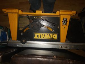 DeWalt table saw .. for Sale in Bristol, PA