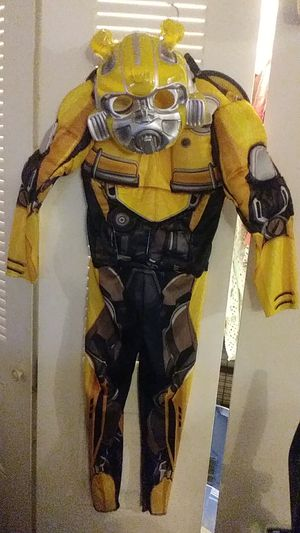 """Transformers """"bumble bee"""". Size S 4- 6 boys for Sale in Lindenwold, NJ"""