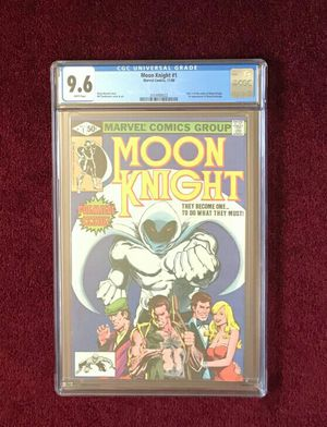 Moon Knight #1 comic book graded for Sale in Fort Washington, MD