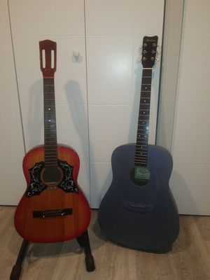 2 PROJECT GUITARS, FOR PARTS, HOHNER and 3/4 UNKNOWN (made in Korea) for Sale in Burien, WA