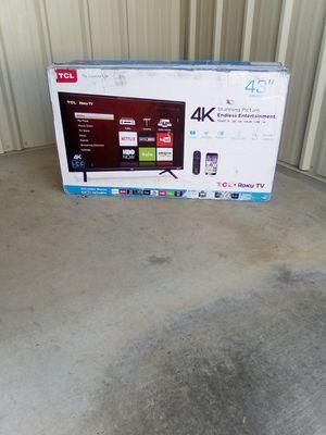 """*New 43"""" In. TCL 4k Roku Smart TV* for Sale in Ellenwood, GA"""
