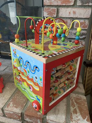 Wooden Activity Cube for Sale in Murrieta, CA