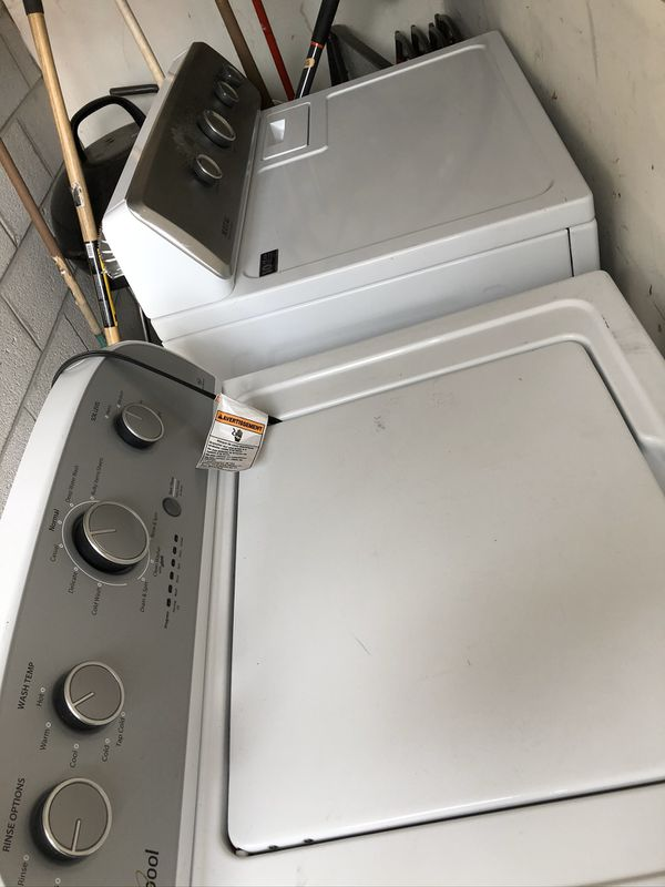 Electric or gas Heavy duty Whirlpool washer and heavy Duty Maytag Dyer!