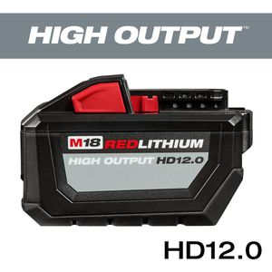MILWAUKEE M18 RED LITHIUM HIGH OUTPUT HD12.0 for Sale in Pearl City, HI