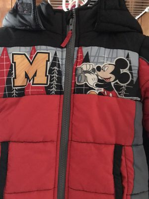 Toddler Mickey Mouse winter jacket for Sale in Pittsburgh, PA