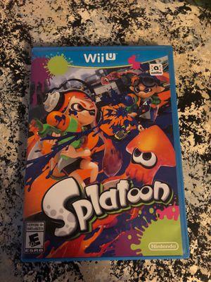 Nintendo Wii U Splatoon for Sale in Davenport, FL