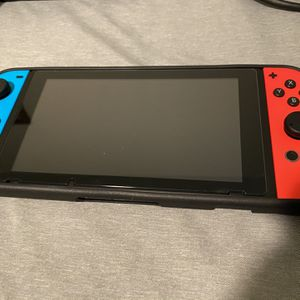 *MINT* V2 Nintendo Switch w/ Games and Accessories (smash,Mario Kart, Etc) for Sale in North Andover, MA