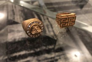 Versace Rings - Size 17 for Sale in Dallas, TX