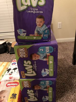 Luvs,huggies, and honest for Sale in Houston, TX