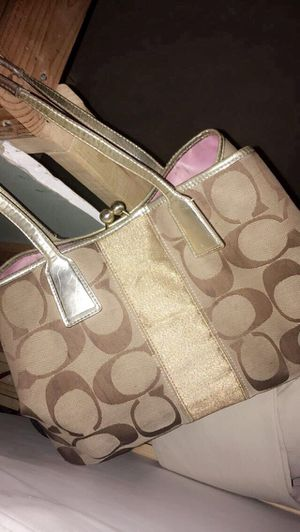 real coach purse and ralph lauren wallet for Sale in St. Louis, MO