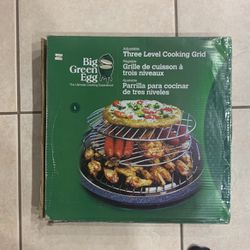 Big Green Egg Adjustable Three Level Cooking Grid for Sale in Miami,  FL