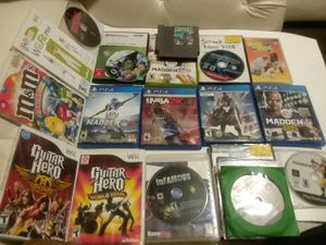 23 VIDEO GAME MIXED GAME LOT for Sale in Wilmington, DE