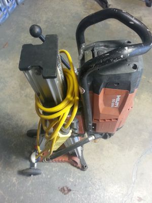 Used Hilti dd 250 Concrete Diamond Core Drill System W / hilti Stand for Sale in Joliet, IL