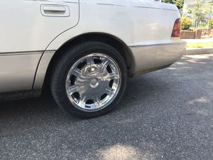 """GM Chrome Universal Rims 17"""" for Sale in Laurel, MD"""