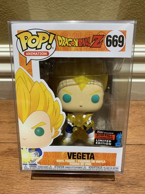 Funko Pop! Dragonball Z DBZ Vegeta NYCC Hot Topic Exclusive for Sale in Anaheim, CA