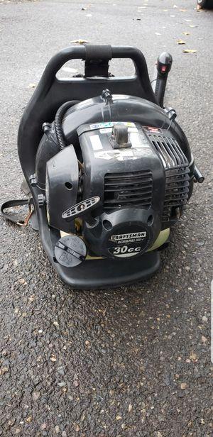 Craftsman backpack blower! for Sale in Oregon City, OR