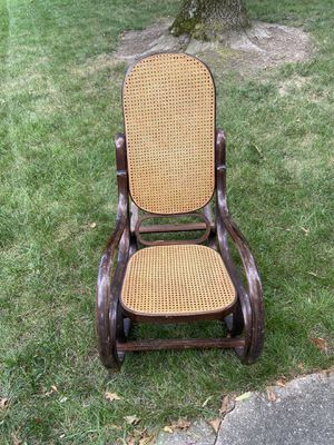 Early 1950's Antique Exclusive Rocking Chair for Sale in Columbia, MD
