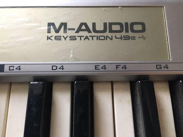 M-Audio Keystation 49e USB keyboard.