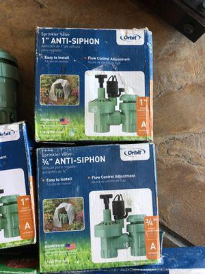 """Sprinkler control valves orbit 1"""" 3/4"""" for Sale in Chula Vista, CA"""