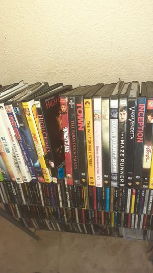 DVD and blue ray. Over 300 to choose from. $2 and $3 or we can make a package deal. for Sale in Sacramento, CA