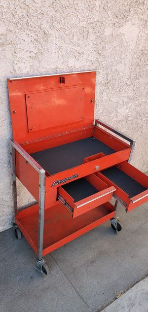 Snap on snap-on snapon tool box toolbox cart chest cabinet with keys for Sale in Rosemead, CA