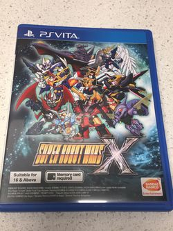 Super Robot Wars X (English Subs) for PlayStation Vita [PS Vita] for Sale in Seattle,  WA