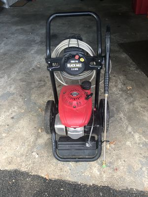 Black max Pressure washer for Sale in Obetz, OH