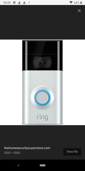 Ring Doorbell Camera for Sale in Memphis, TN