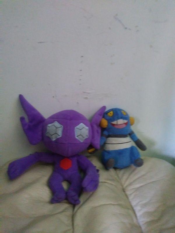 Pokemon plushie