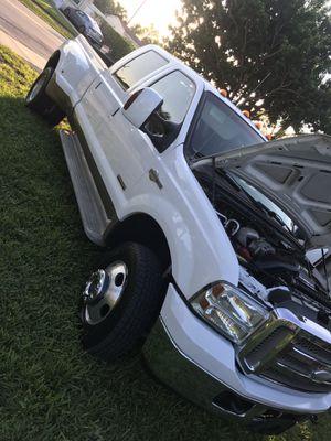 2005 Ford F-350 4x4 en perfect condición tituló en mano sólo cash for Sale in Oakland Park, FL