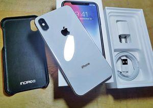 iPhone X 256gb unlocked for Sale in Wayne, NJ