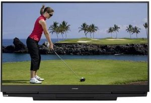 Mitsubishi 73inches 1080i DLP 3D TV with remote control and 3 HDMI ports for Sale in Washington, DC