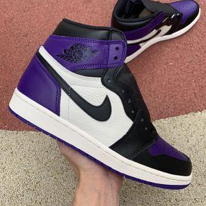 Jordan 1 Retro High Court Purple for Sale in Orange, CA