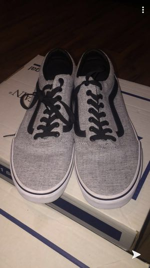 Men's size 11 vans worn 1/2 day not my style for Sale in Mount Healthy, OH