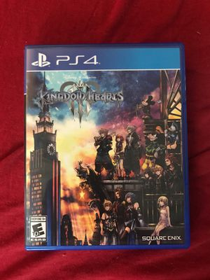 Kingdom Hearts 3 (ps4) with steelbook and artbook for Sale in Waterbury, CT