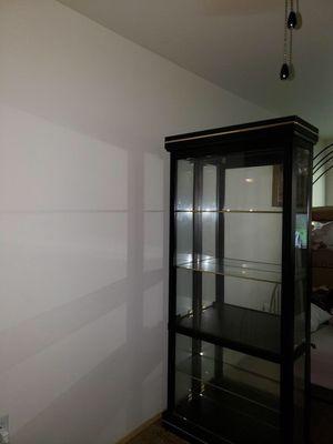 Glass Curio cabinet for Sale in Auburn, WA