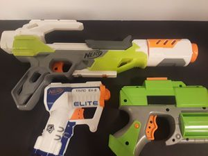 NERF Gun Mixed Lot 4 Pieces. for Sale in Houston, TX