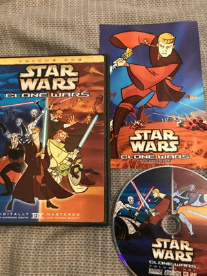 Star Wars Clone Wars Vol.1 ~ DVD ~ Complete for Sale in Monmouth, OR