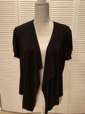 Black Shrug Short Sleeve - Size XL for Sale in Boca Raton, FL
