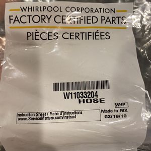 Ice Machine Whirlpool W11033204 HOSE for Sale in Sugar Land, TX