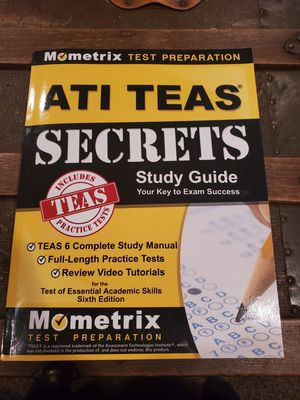 ATI TEAS SECERETS STUDY GUIDE for Sale in Fort Worth, TX