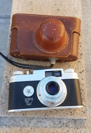 Vintage 35mm Argus Camera With Case Working Condition for Sale in Rancho Cucamonga, CA