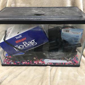 5 Gallon Aquarium Plus All The Stuff for Sale in WA, US