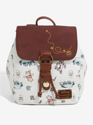 DISNEY LOUNGEFLY WINNIE THE POOH CHARACTER SKETCHES MINI BACKPACK for Sale in Montebello, CA