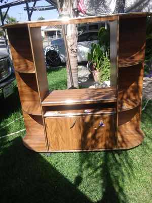 TV stand. 56 inch long 50 inch high for Sale in Ivanhoe, CA
