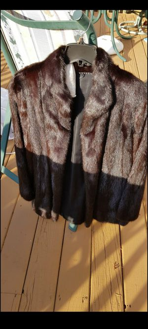 Real Mink fur coat for Sale in Sully Station, VA