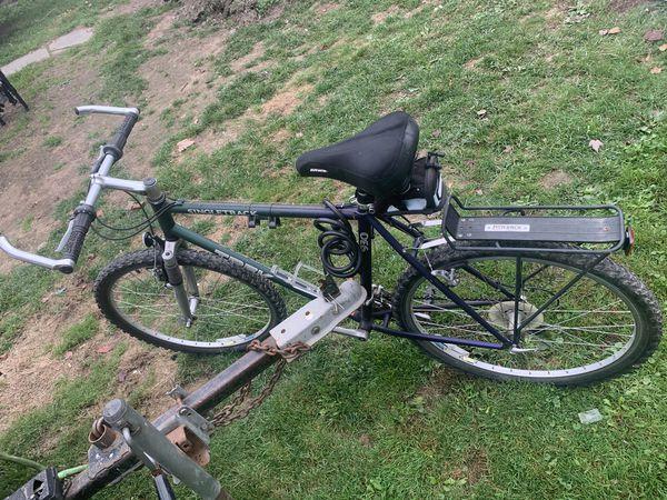 Trek ALUMINIUM Light weight with track rack for car