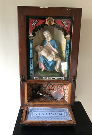 Antique last rites box for Sale in Winthrop, MA