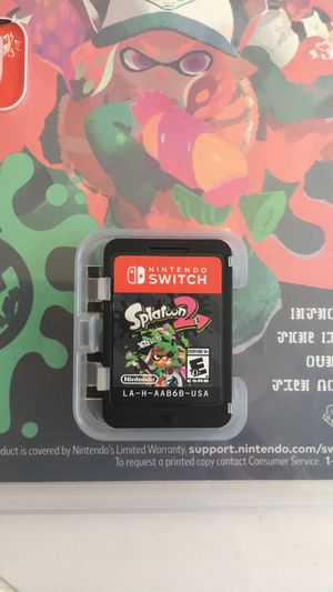 Splatoon 2 Nintendo switch video game for Sale in Clayton, NC