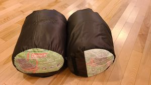 2x Coleman Montauk 20F Sleeping Bags for Sale in North Bend, WA